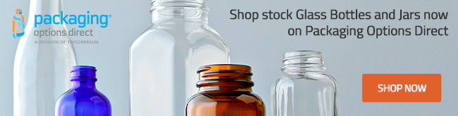 Shop Glass Bottles Now at Packaging Options Direct