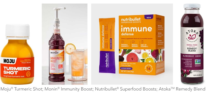 Wellness products for immune boosting