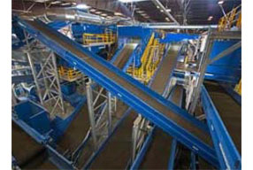 World's largest recycling operation processes 110 tons per hour